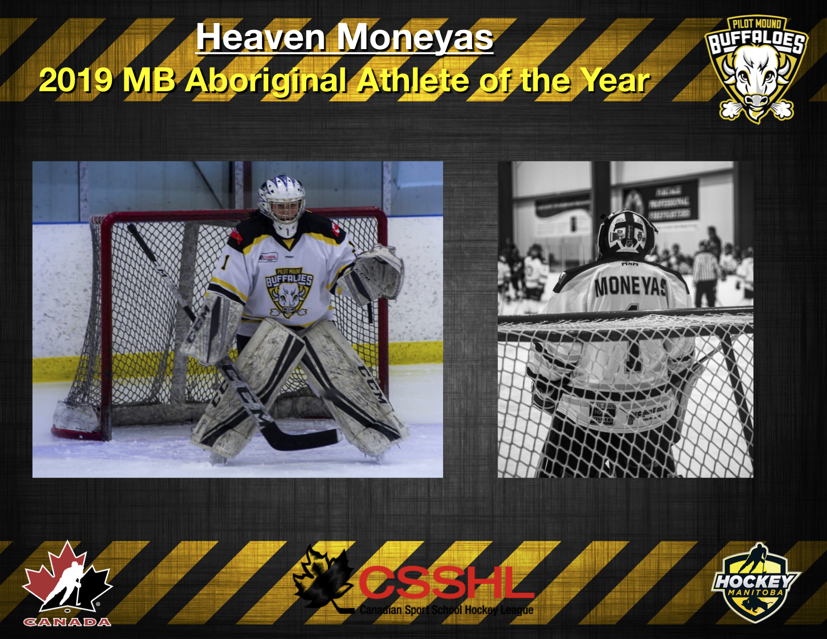 Heaven Moneyas Wins 2019 Manitoba Aboriginal Athlete of the Year