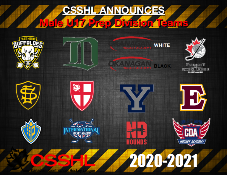 CSSHL Announces Male U17 Prep Division Teams