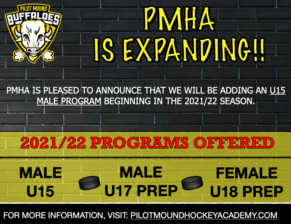 PMHA Expands with Male U15 Program