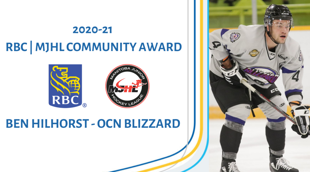 You are currently viewing FORMER BUFFALO NAMED RECIPIENT OF RBC COMMUNITY AWARD – MJHL